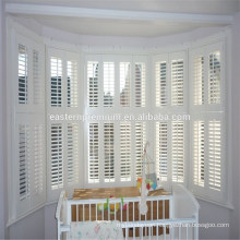 fauxwood shutter for interior house decoration