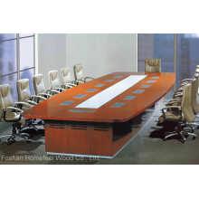 Mesa de sala de conferência moderna de design de escritório grande (HF-MH7028)