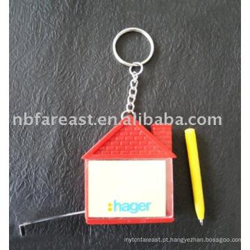 Memo, fita, medida, keychain