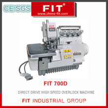 Drect Drive High Speed Overlock Sewing Machine (FIT 700D)
