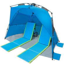 Easy up Beach Deluxe Leisure Seaside Sunshade Tent