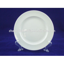 white color porcelain large plates hotel and & restaurant supplier