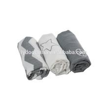 Baumwolle Baby Musselin Swaddle 2 Schichten wickeln Decke