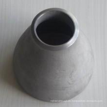 Reductor concéntrico de soldadura a tope de acero inoxidable ANSI / ASME B16.9 304