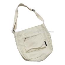 8 oz Leinwand Stoff Einkaufstasche mit langem Griff