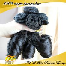 Оптовая продажа необработанные человеческие волосы русского тетенька фунми волос упругие локоны