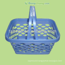 plastic handle shopping basket mould