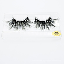 High Quality 3D 5D 25mm Eyelashes Mink Lashes with Customzied Label Package Boxes