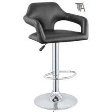 Schwarze Farbe PU Material Bar Hocker (TF 6025)