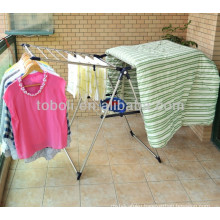 China wing type stainless steel folding clothes drying rack