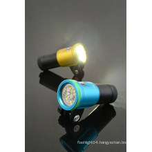 Hi-max 2700lm+ Rechargeable Battery Extra Wide Beam LED Diving Light