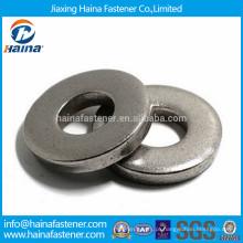 DIN7349 304 em aço inoxidável pesado lavadora plana, arruela grossa GB5287