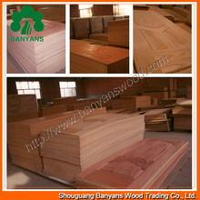 2.7-4.2mm Melamine Door Skin From China Manufacturer