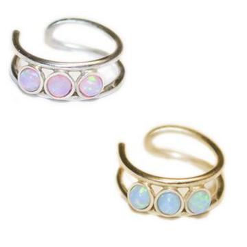 Nouveau Design Indien Bijoux Sexe Or Opale Cerceau Nose Anneau Nath Nouveau Design Indien Bijoux Sexe Or Opale Hoop Nose Anneau Nath