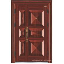 Deep Embossing Mother-Son Steel Security Door