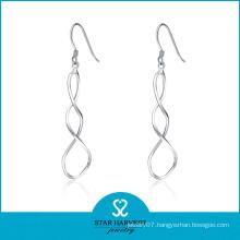 Silver Filigree Fashion Dangle Earrings