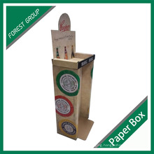 Custom Printing Beer PDQ Counter Cardboard Display Box Wholesale