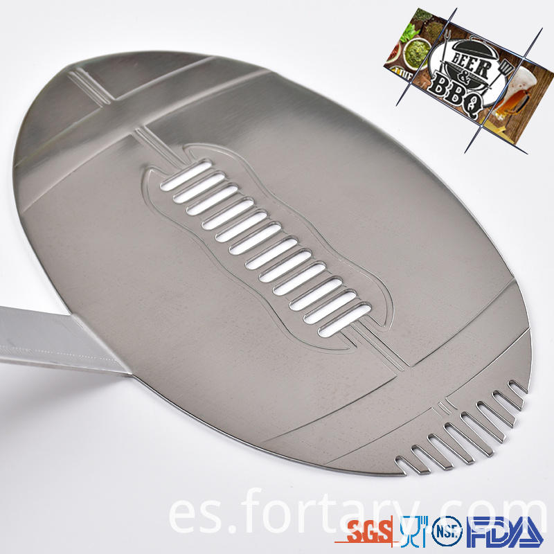 Football shape Barbecue Bbq Tool