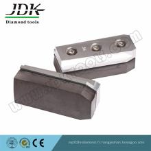 Fickert de lien en métal abrasif de diamant pour le meulage de granit