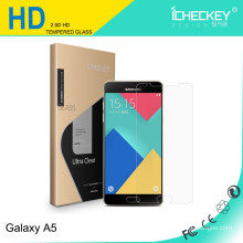 Bas prix! Protecteur d'écran en verre trempé de dureté 9H pour Samsung A5 2017