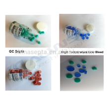 100pcs / pk, Silicone High Temperature GC Septa