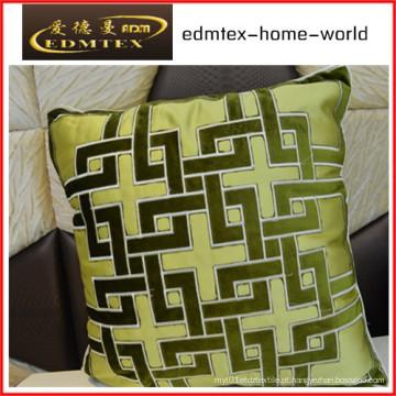 Bordados decorativos almofada de veludo de moda travesseiro (edm0322)