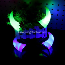 Promotional Plastic Glowing Twill Devil Horns