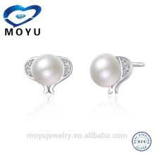 Boucles d'oreilles en gros et en gros avec perle