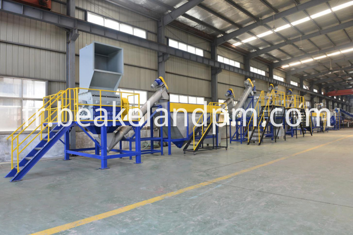 PET recycling plant