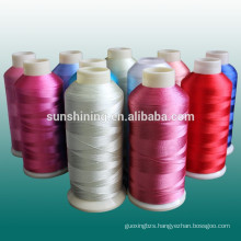 Rayon And Polyester Embroidery Thread