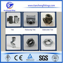 Mercados de América del Sur Malleable Cast Fittings