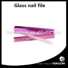 vente en gros lime à ongles en verre - lime à ongles en cristal avec étui - lime à ongles manucure