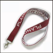 Promoción tejida / Jacquard / logotipo bordado Custom Lanyard para Show