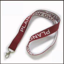 Promotion Woven/Jacquard/Embroidered Logo Custom Lanyard for Show