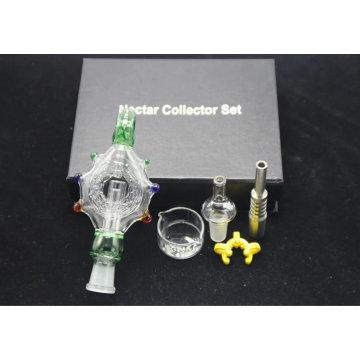 Melhor boa venda boa função do coletor do néctar para fumar a tubulação de água de vidro