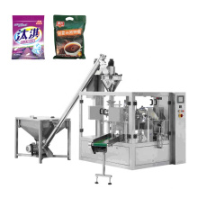 Automatic Premade Pouch 1 2 kg Maize Wheat Bean Corn Plantain Rice Flour Packaging Machine