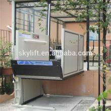 Ascenseur électrique hydraulique d'attelage de fauteuil roulant pour des personnes handicapées
