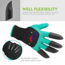 Guantes de garra de jardín de alta calidad guantes de jardinería mujeres