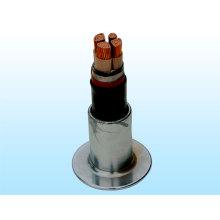 (TISENSE-YJV), связанный с воздушной связью кабель электропередачи
