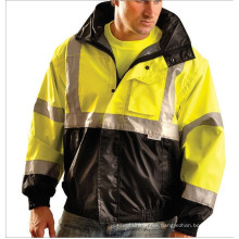 Reflective Safety Casual Coat with Pocket