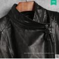 Короткая куртка из натуральной кожи для женщин