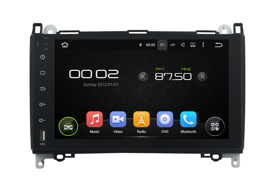 Android 7.1 BENZ Car Audio Video