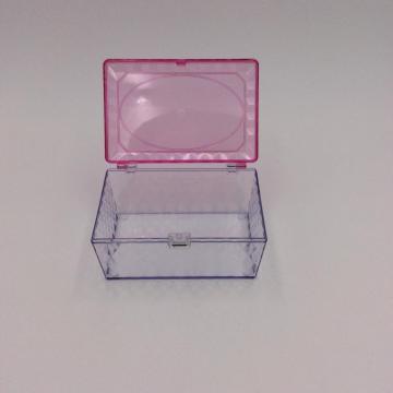 Mini-Aufbewahrungsbox aus durchsichtigem Kunststoff