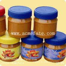 Enlatados em frascos de manteiga de amendoim chinesa