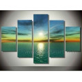 Pure Handbemalte Mode Seascape Sonnenuntergang Wand Kunst Malerei (SE-179)