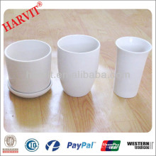 Japanese Pots de flores de cerámica / Vietnam Flower Pots / Home Decor Potes de flores de cerámica azul