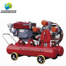 Compressor diesel portátil do compressor de ar 220l 5bar 3.0m3