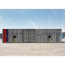 Type intégré de conteneur de condensateur