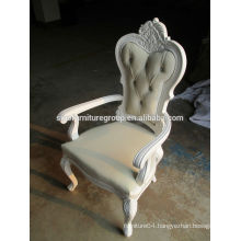 Baroque style classical wooden dining chair