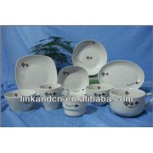 KC-00541 plaque en céramique, bol, vaisselle en porcelaine
